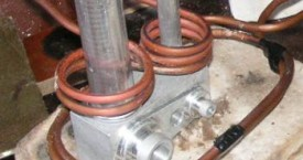 <b> Aluminim soldering</b>:   Soldering of aluminum parts