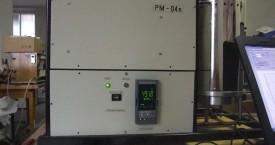 <b> Přístrojový modul</b>:  Celkový pohled na přední panel přístroje.