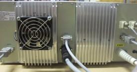 <b> Elektrický modul</b>:  Pohled na zadní panel el.modulu.