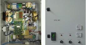 <b>SFG-8R</b>:  Pohled na generátor v základním provedení s regulátorem teploty.